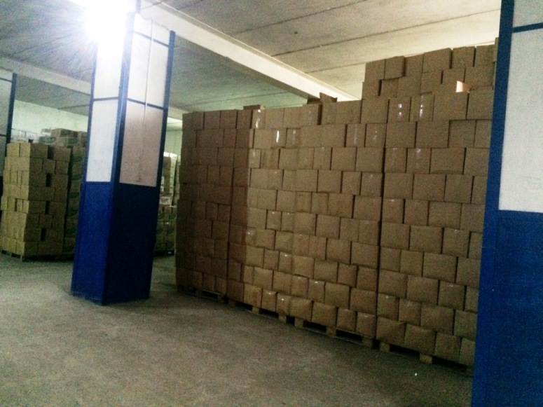 Милиция изъяла 58 тонн контрафактной водки сосклада вЧите