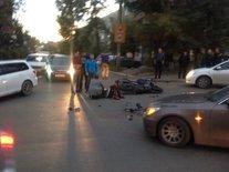 Автоэксперт прокомментировал видео ДТП с участием двух мотоциклистов и BMW в Чите