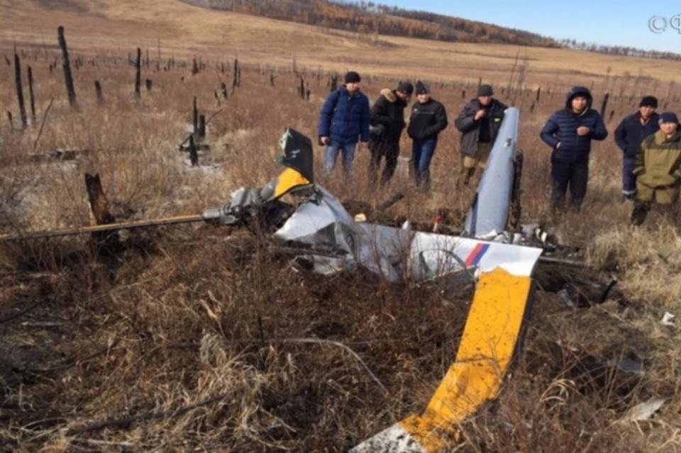 Комиссия МАК выехала наместо крушения вертолета Robinson вЗабайкалье