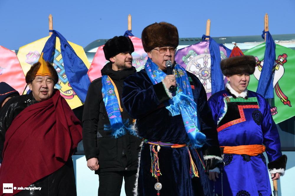 Поздравления с сагаалган на русском