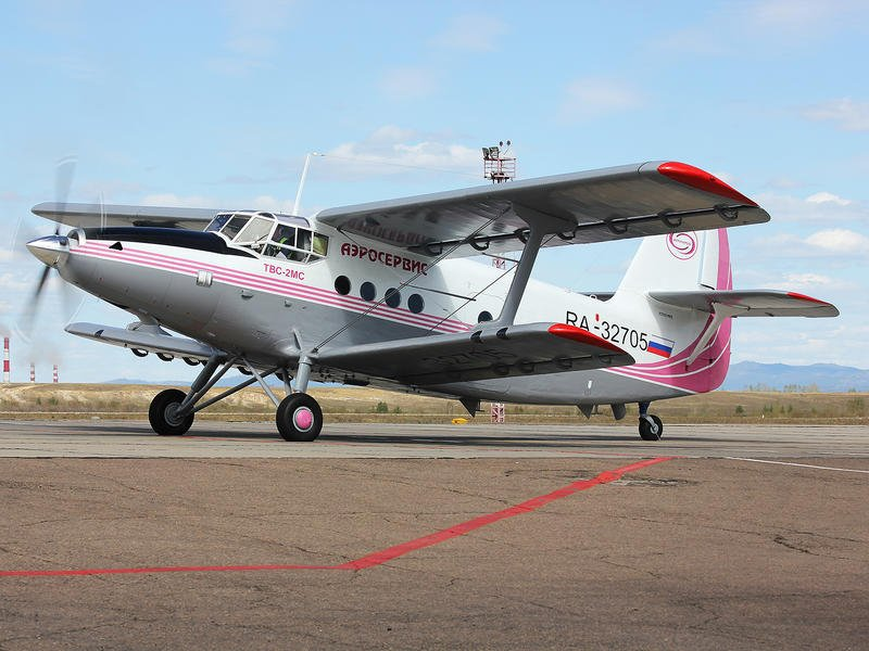 Первый в Забайкалье самолёт ТВС-2МС поднялся в воздух