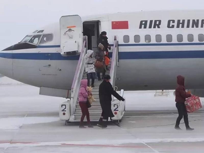 Время закрытия аэропорта Читы продлили до 15:00 из-за снегопада