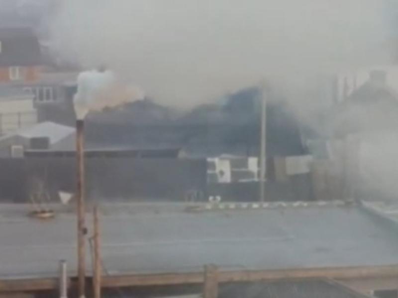 Жительница Читы пожаловалась на дым от рядом стоящей котельной
