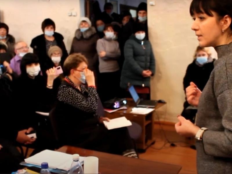 Шангина извинилась перед жителями Харагуна за высказывание «поесть и поспать в больнице»