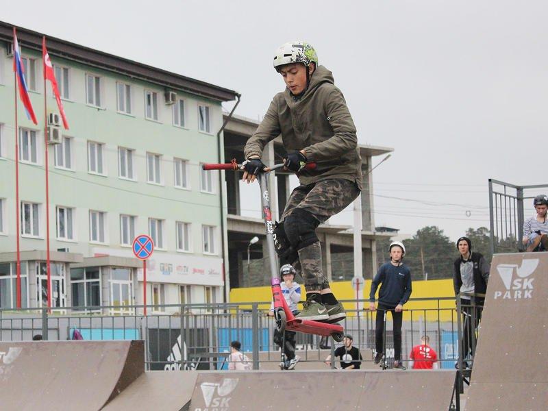 Открытие скейт-парка в ТРЦ «Макси»