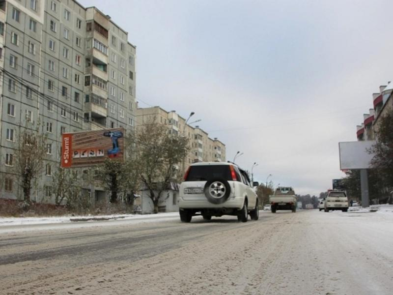 Жители КСК и ГРЭС пожаловались на неочищенные от снега улицы