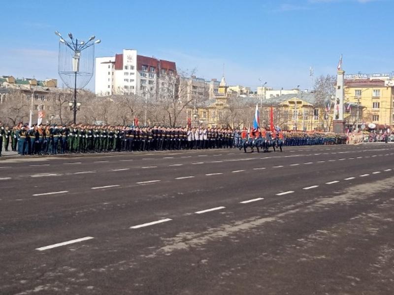 Забайкальцам не дали нормально посмотреть Парад Победы