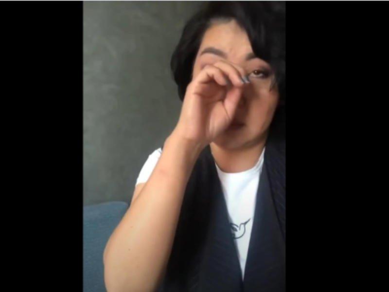 Замгубернатора Забайкалья Ванчикова удалила из Instagram видео, где она расплакалась из-за травли в Интернете