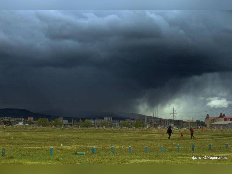 Штормовое предупреждение объявлено в районах Забайкальского края