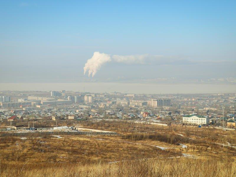 Чита попала в список городов с наибольшим уровнем загрязнения атмосферного воздуха