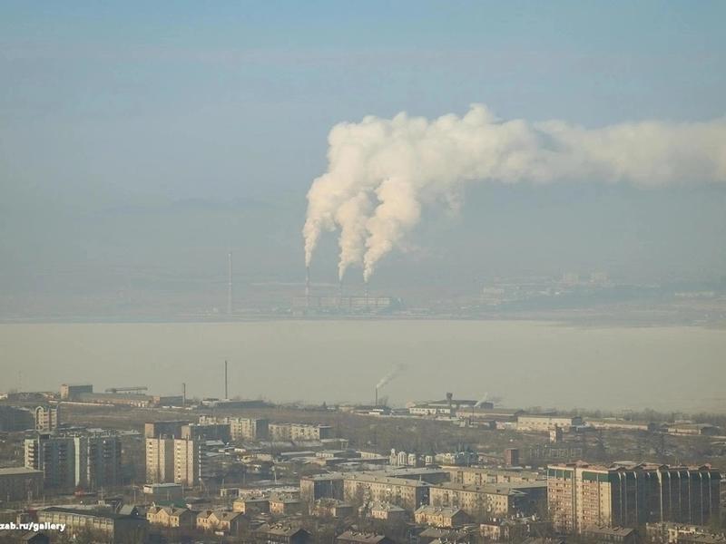 Концентрация пыли в районе Читы превысила норму более чем в два раза