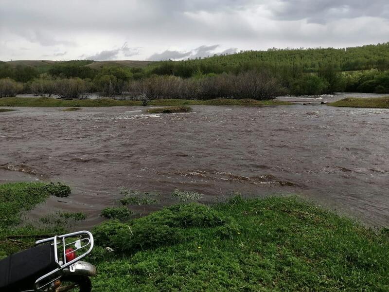 Дороги в 9 районах Забайкалья затопило в первой половине дня 4 июня