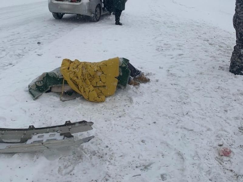 Человек погиб в ДТП под посёлком Дарасун в Забайкалье