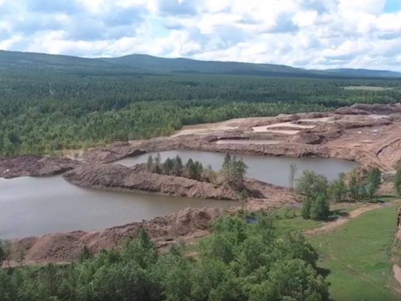Золотодобывающая компания «Кварц» уничтожает окрестности села Ильинка по лицензии