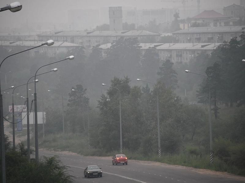 В Чите объявили первую степень опасности из-за загрязнения воздуха