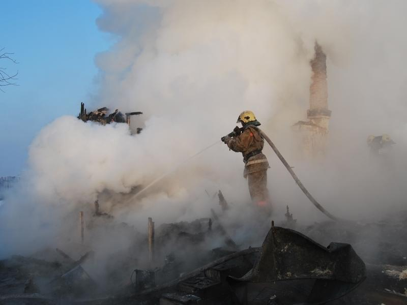 Малолетний ребёнок погиб при пожаре в Читинском районе