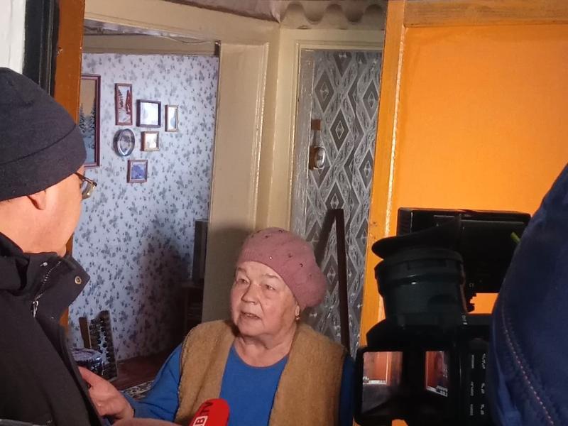 Пенсионерка из Читы рассказала о жизни в аварийном доме