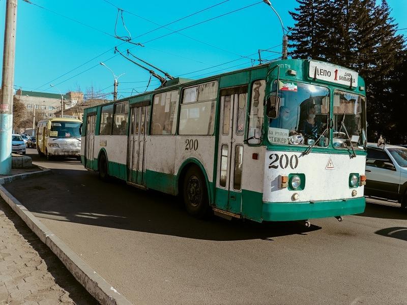Троллейбусное управление завысило цену на размещение оптоволокна в Чите