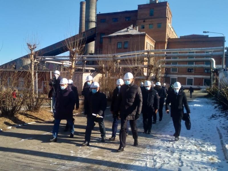 Глава Минстроя России посетил Первомайскую ТЭЦ