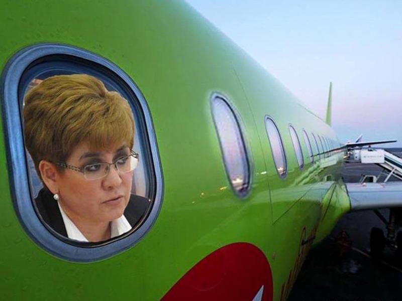 Жданова за время губернаторства потратила на авиаперелёты более 5 млн руб