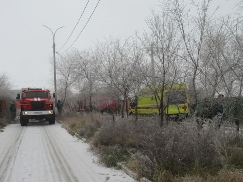 Пожарные потушили загоревшуюся сауну на берегу Кенона в Чите за 2 часа
