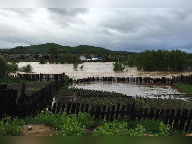 В Забайкалье из-за паводком пострадало около 500 домов