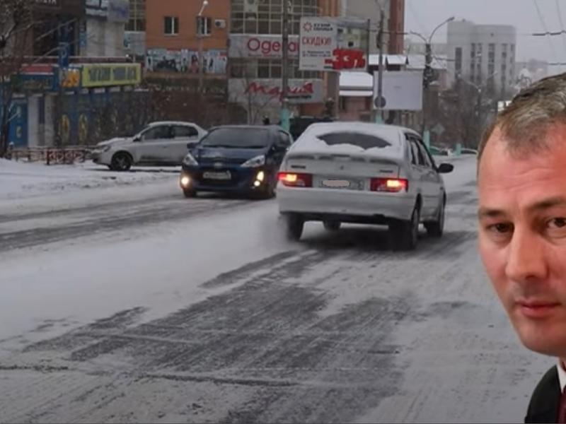 Подписчик Сапожникова в Instagram заявил о «показухе» при уборке снега в Чите