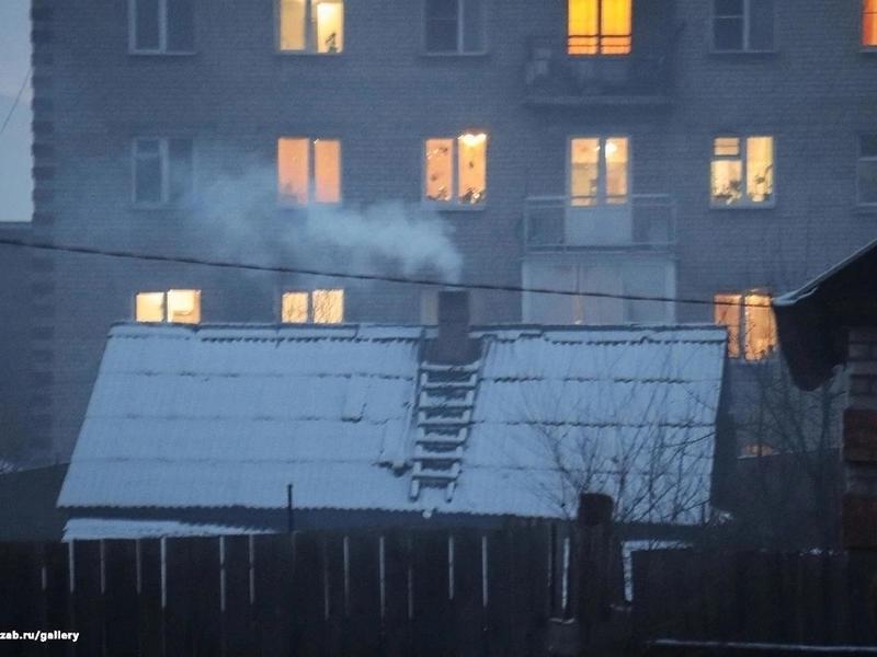 Половина домохозяйств в Забайкалье отапливается при помощи печек