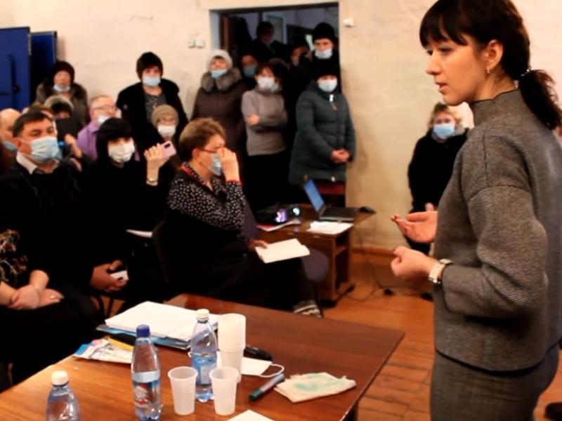 Министр здравоохранения  Шангина указала на «обратимость процессов» в Харагуне