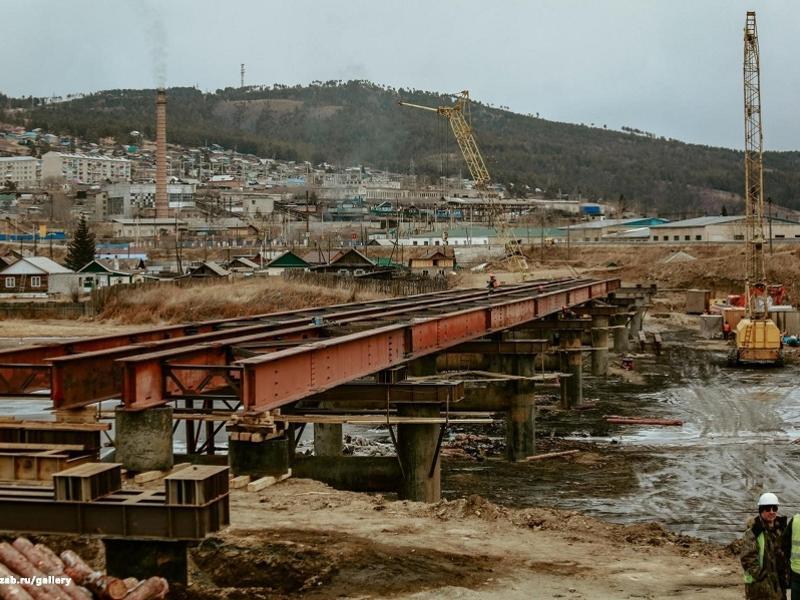 Движение откроют на временном мосту через Ингоду в Дарасуне