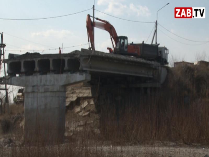 В Чите начались работы по капремонту Каштакского моста — ZAB.TV