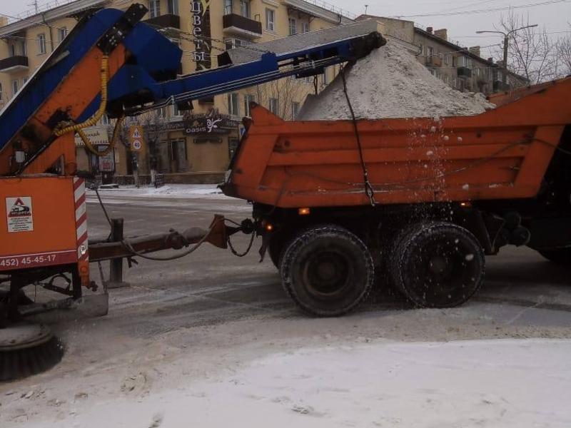 Мэрия Читы после жалоб пообещала усилиться в работе по очистке дорог от снега
