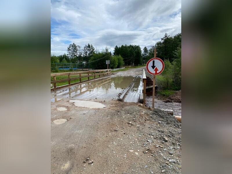Глава Тунгиро-Олёкминского района принял деревянный «мостик» за 3 миллиона рублей