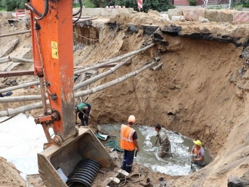 Жителям нескольких читинских домов вернули водоснабжение