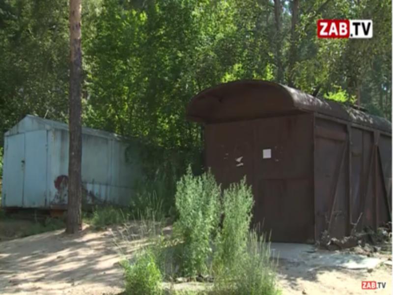 В Чите демонтируют незаконно установленные металлические гаражи — ZAB.TV