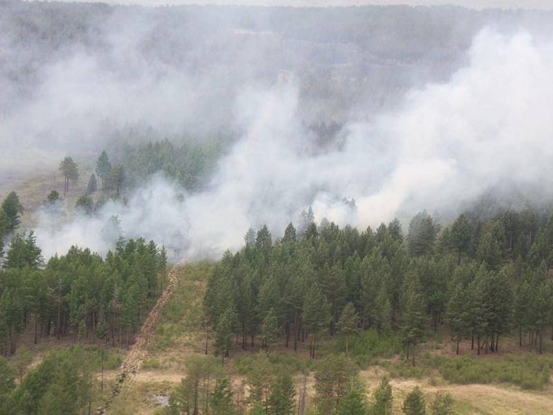 Пять районов Забайкалья не подготовились к пожароопасному периоду