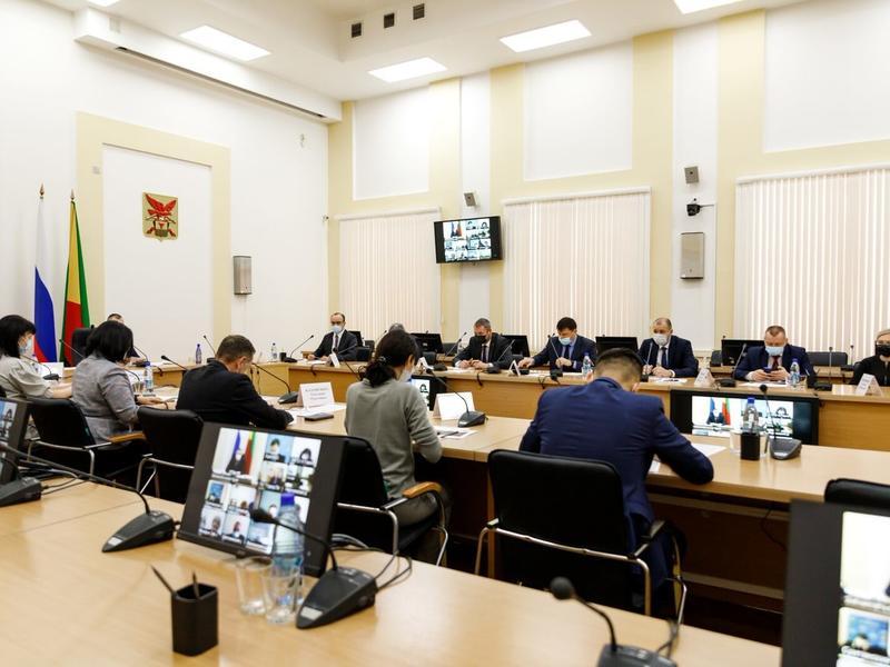 Министров Забайкалья отчитали из-за слабых показателей по нацпроектам