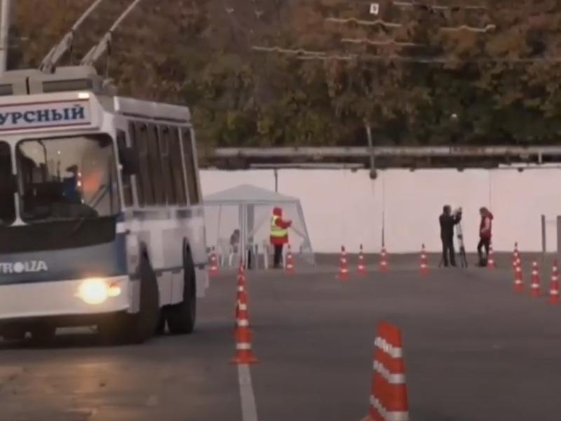 Читинец принимает участие в конкурсе за звание лучшего водителя троллейбуса в России