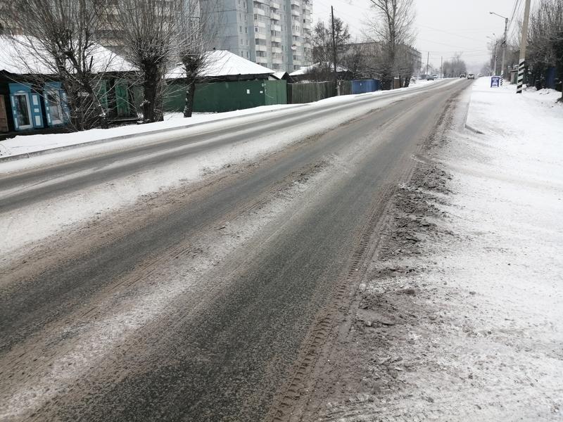Активисты «Дорожного патруля» за час мониторинга не встретили снегоуборочной техники в Чите