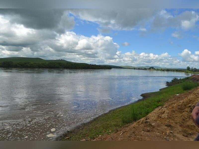 Угроза подтопления возникла в селе Забайкалья из-за сильных дождей