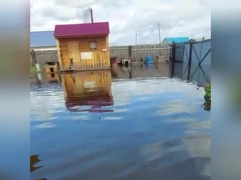 Несколько жилых домов в пгт. Чернышевск находятся под угрозой подтопления