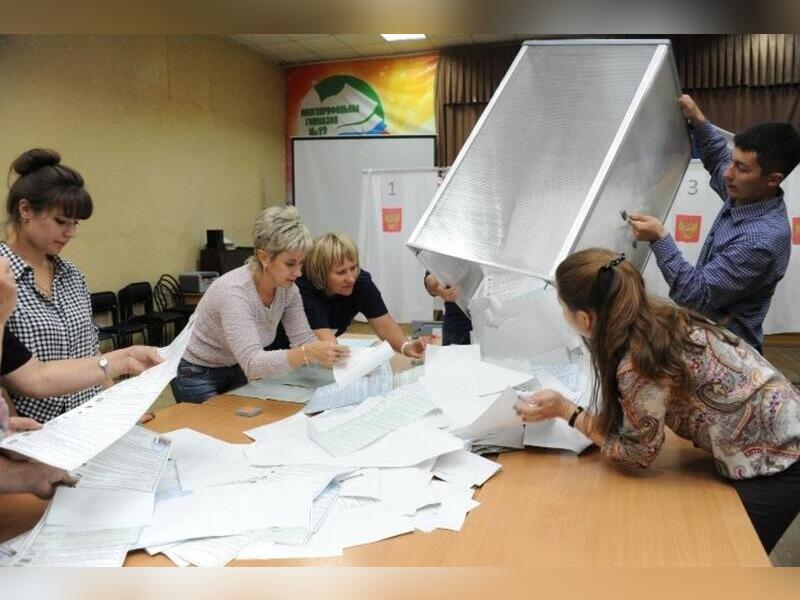 Забайкальский Избирком сообщил от тысячах недействительных бюллетеней на выборах в Госдуму