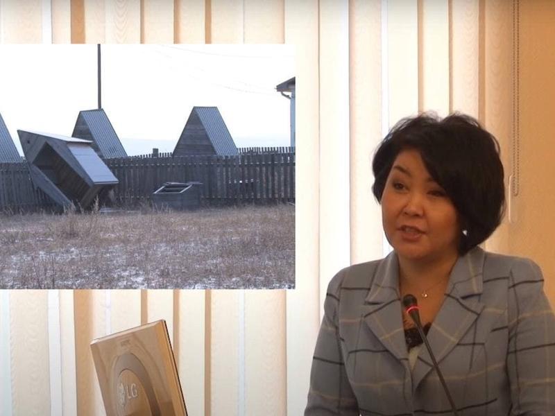 Аягму Ванчикову расстроил сюжет ZAB.TV и она намекнула на обращение в суд