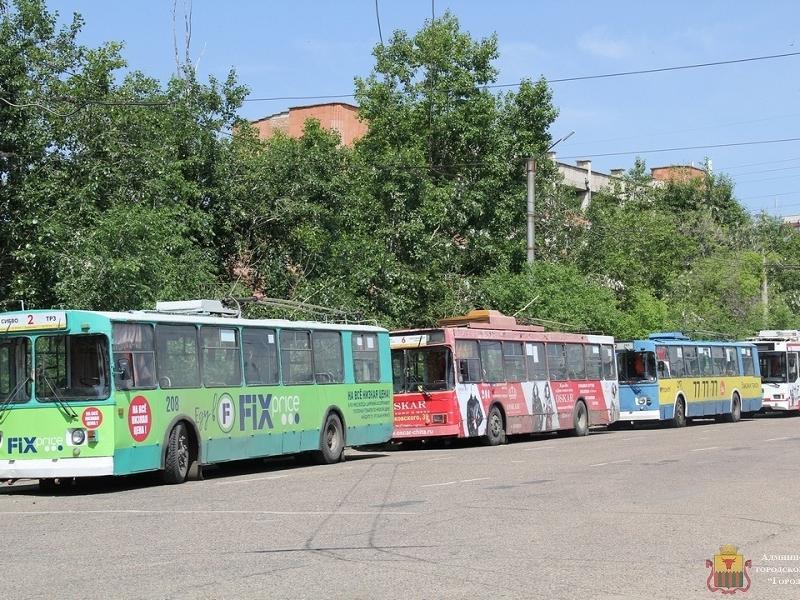 Троллейбусы без кондукторов запустят с 5 октября в Чите