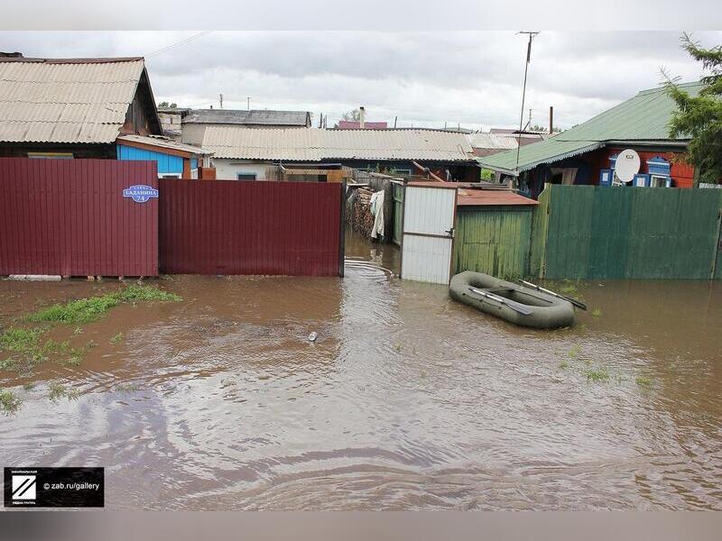 Комиссии по подсчёту ущерба от паводков начали работать в районах Забайкалья