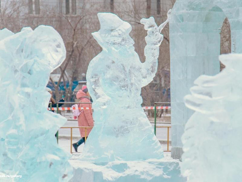 Ледовый городок откроется на пл. Ленина в Чите 25 декабря