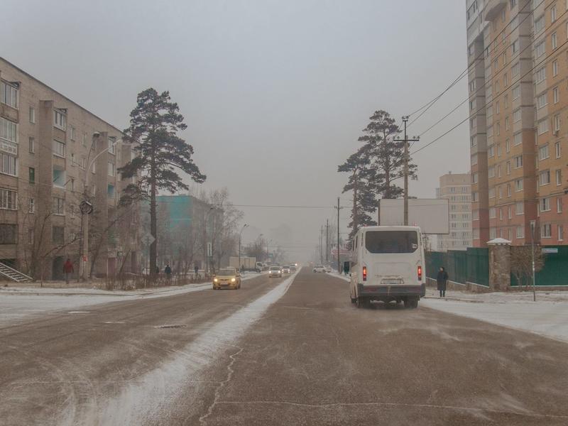 Чита вошла в список городов с самым грязным воздухом