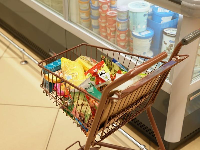 Цена на продукты в России росла быстрее, чем в Евросоюзе в 7 раз