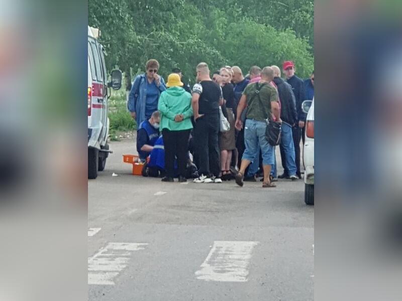 Ребёнок попал под колёса автомобиля в Краснокаменске