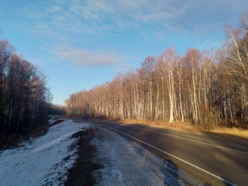 Дорогу в районе Забайкалья отремонтировали после 30-ти лет ожидания